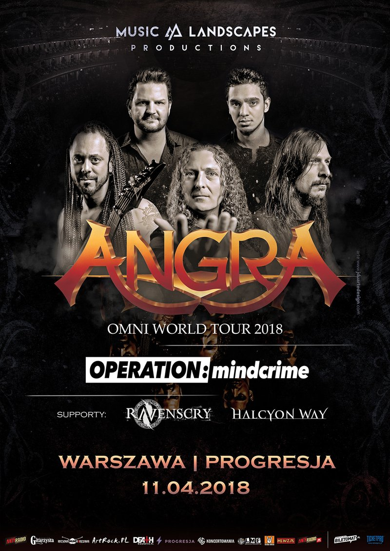 Angra & Operation Mindcrime - Warsaw, Poland