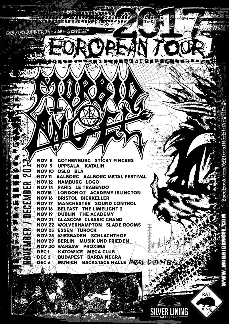 Morbid Angel European Tour