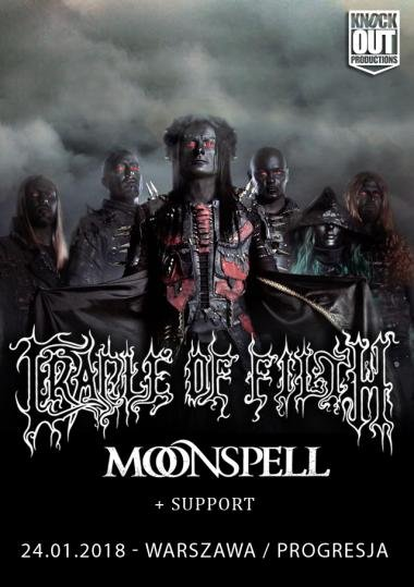 Cradle Of Filth + Moonspell / 24 I /